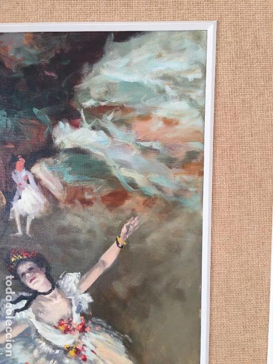 Arte: oleo sobre lienzo BAILARINAS - Foto 12 - 57753427