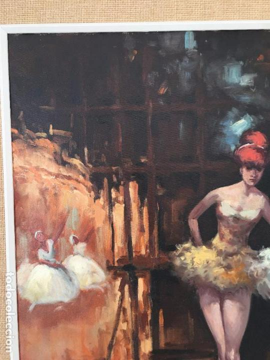 Arte: oleo sobre lienzo BAILARINAS EN DESCANSO - Foto 12 - 57753726