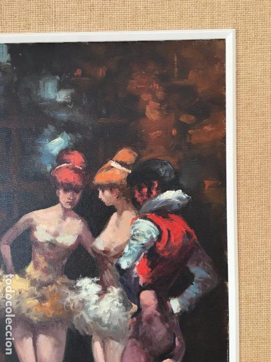 Arte: oleo sobre lienzo BAILARINAS EN DESCANSO - Foto 13 - 57753726
