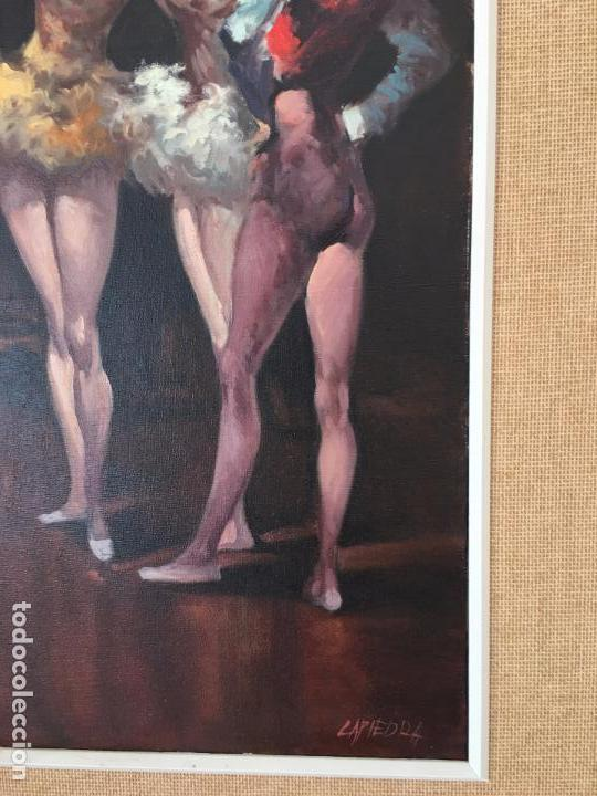 Arte: oleo sobre lienzo BAILARINAS EN DESCANSO - Foto 14 - 57753726
