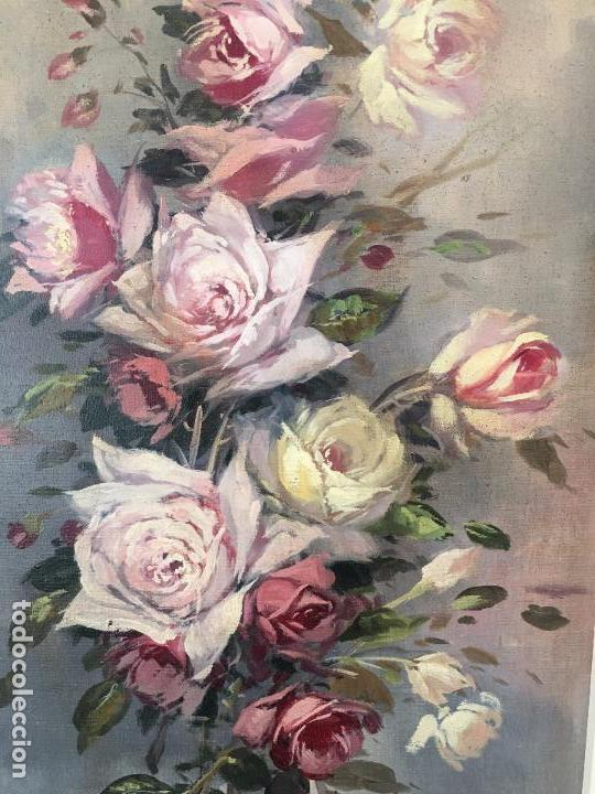 Arte: oleo sobre lienzo JARRON CON FLORES - Foto 3 - 57753948