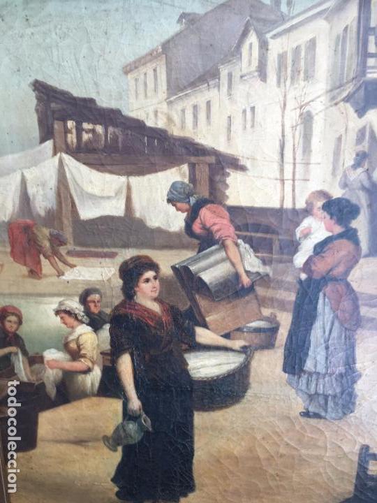 Arte: Óleo sobre lienzo, firmado J.Palmi. Oil on canvas signed J.Palmi. - Foto 4 - 97054327