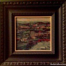 Arte: CUADRO ÓLEO DEL ARTISTA CATALÁN PERECOLL ESTÁ OBRA SALE EN EL LIBRO DEL PINTOR. Lote 97111171