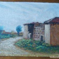 Arte: PAISAGE, ÓLEO SOBRE OCUMEN.. Lote 97113947