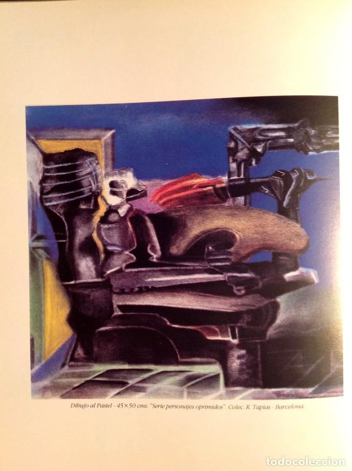 Arte: Cuadro Del Pintor PERECOLL Primera Época Este Cuadro Está En El Libro Del Pintor - Foto 2 - 97138523