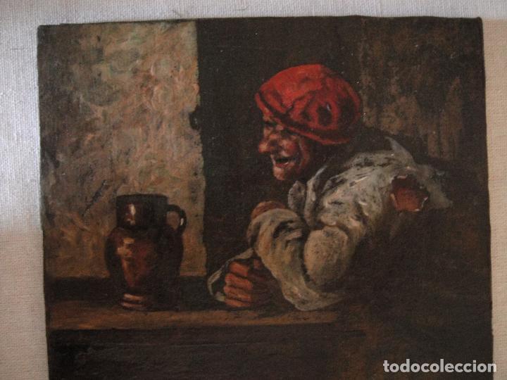 EXTRAORDINARIA PINTURA AL OLEO. NORTE DE EUROPA. SIGLO 18/19 (Arte - Pintura - Pintura al Óleo Antigua siglo XVIII)