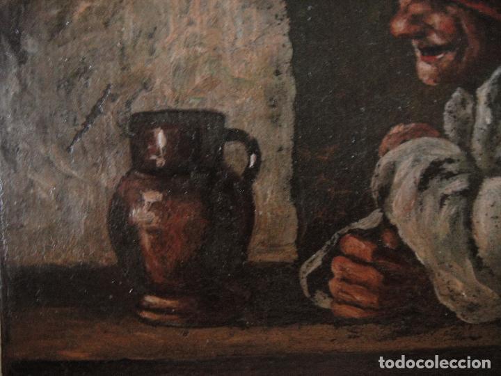 Arte: Extraordinaria pintura al oleo. Norte de Europa. Siglo 18/19 - Foto 2 - 97362803