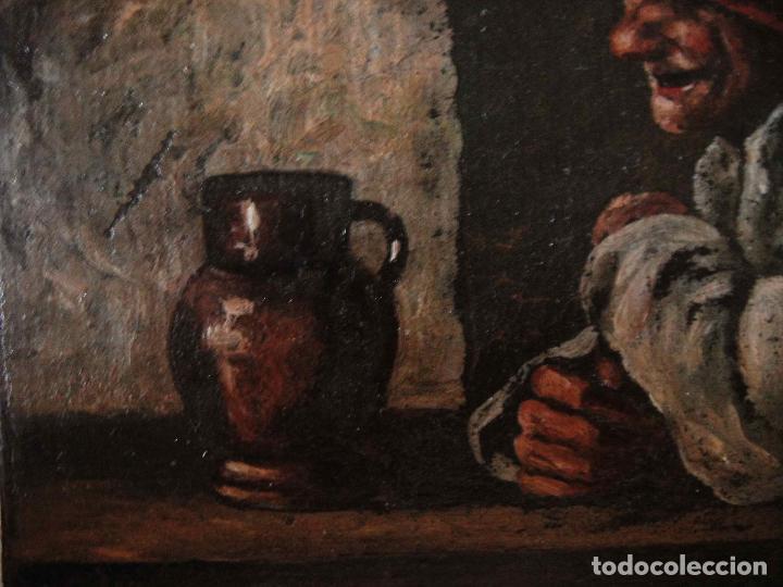 Arte: Extraordinaria pintura al oleo. Norte de Europa. Siglo 18/19 - Foto 5 - 97362803
