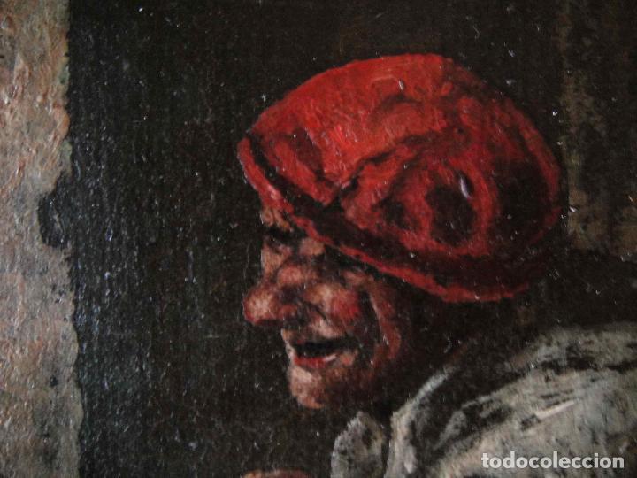 Arte: Extraordinaria pintura al oleo. Norte de Europa. Siglo 18/19 - Foto 6 - 97362803