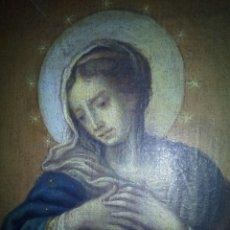 Arte: INMACULADA ÓLEO SOBRE LIENZO SIGLO XVIII.. Lote 97484223