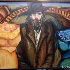 Arte: TEATRO 7 POR HILDA FUCHS (ARGENTINA, RESIDENTE EN MADRID DESDE 1976) 1989. Lote 97760183