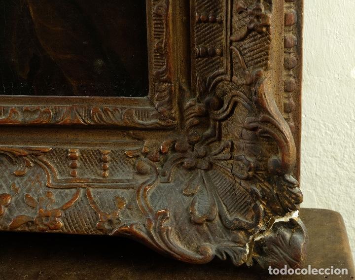 Arte: Óleo sobre lienzo Bodegón frutas y naturaleza muerta principios siglo XX - Foto 12 - 180497210