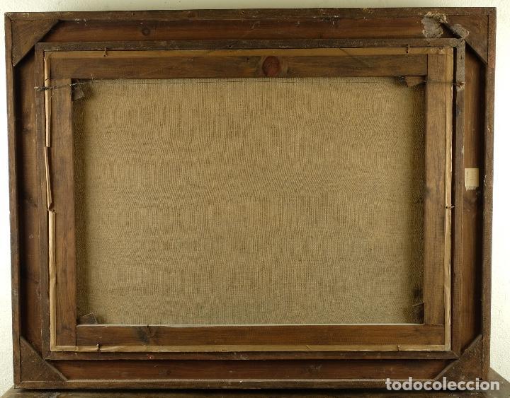 Arte: Óleo sobre lienzo Bodegón frutas y naturaleza muerta principios siglo XX - Foto 13 - 180497210