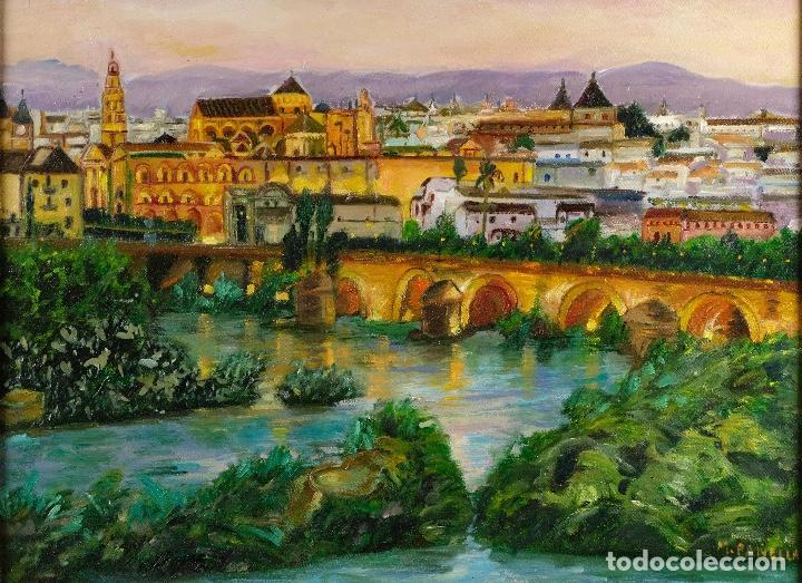 óleo Sobre Lienzo Paisaje Andaluz Firmado M Pa Comprar Pintura Al óleo Contemporánea En Todocoleccion 97785515