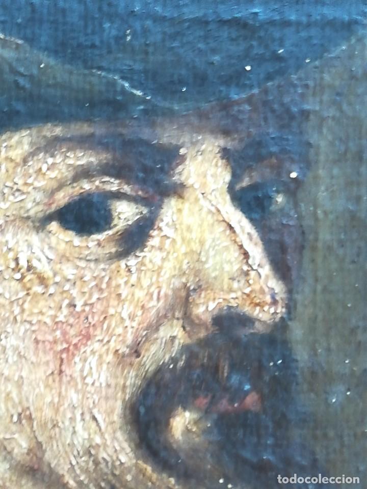 Arte: PINTURA,SIGLO XVIII,POSIBLE RETRATO MIGUEL DE CERVANTES DE JOVEN,AUTOR DE DON QUIJOTE DE LA MANCHA - Foto 4 - 97821879