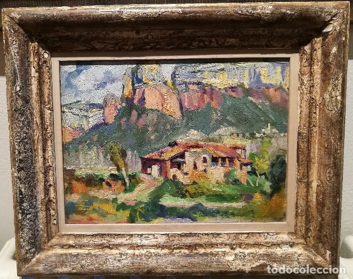 LA MASIA. MALLORCA. POR TARRASSO (1898-1980) (Arte - Pintura - Pintura al Óleo Moderna sin fecha definida)
