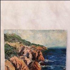 Arte: JOAN ABELLÓ PRAT (MOLLET DEL VALLÈS, 1922 - 2008) ÓLEO. Lote 97931651