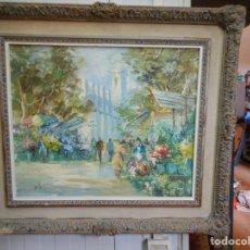 Arte: PINTURA OLEO SOBRE TELA FIRMADA PARECE LEERSE SOTO , AGRADECERIA INFORMACION GRACIAS. Lote 98059283