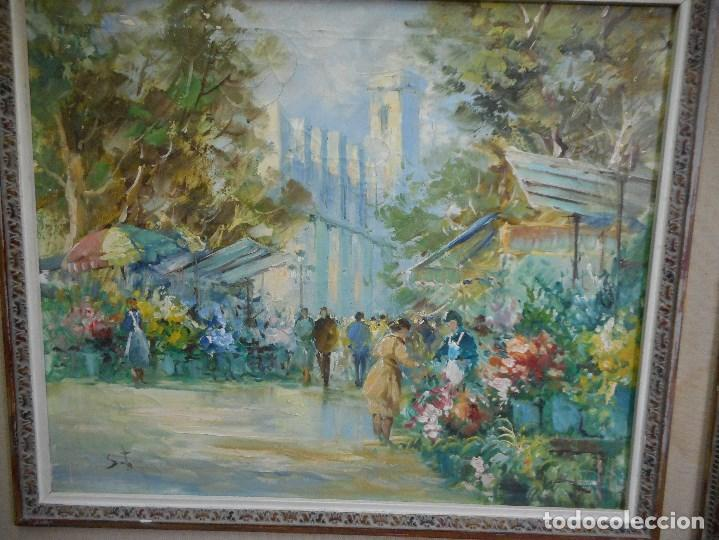Arte: pintura oleo sobre tela firmada parece leerse soto , agradeceria informacion gracias - Foto 2 - 98059283