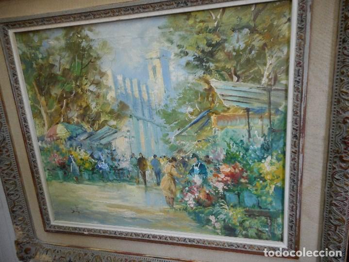 Arte: pintura oleo sobre tela firmada parece leerse soto , agradeceria informacion gracias - Foto 5 - 98059283
