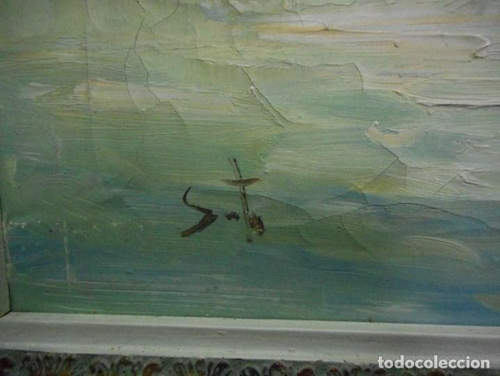 Arte: pintura oleo sobre tela firmada parece leerse soto , agradeceria informacion gracias - Foto 6 - 98059283