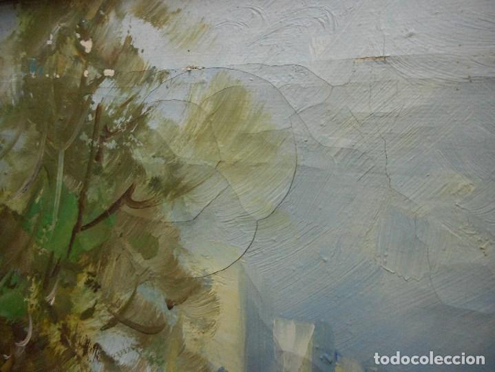 Arte: pintura oleo sobre tela firmada parece leerse soto , agradeceria informacion gracias - Foto 7 - 98059283