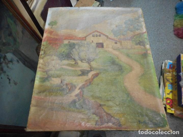 CUADRO OLEO SOBRE TELA FIRMADO (Arte - Pintura - Pintura al Óleo Moderna sin fecha definida)