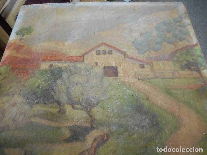 Arte: cuadro oleo sobre tela firmado - Foto 2 - 98063299
