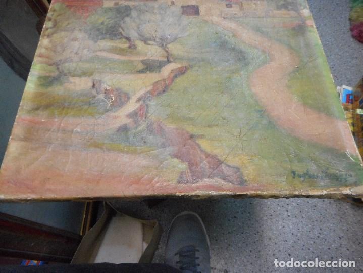 Arte: cuadro oleo sobre tela firmado - Foto 3 - 98063299