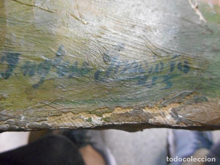 Arte: cuadro oleo sobre tela firmado - Foto 4 - 98063299
