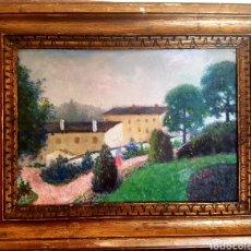 Arte: KNUT ALBERT EMANUEL JANSON , (1882, VALLENTUNA , 1966 ) OLEO SOBRE TABLA, PAISAJE SUECIA.. Lote 98075098