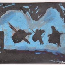 Arte: JORGE LINDELL , PINTURA ORIGINAL FIRMADA Y FECHADA EN 1995 , PINTOR MALAGUEÑO. Lote 98197619