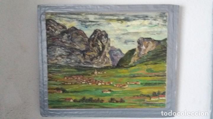 PAISAJE NORTEÑO DE ABRAIDO DEL REY (Arte - Pintura - Pintura al Óleo Contemporánea )