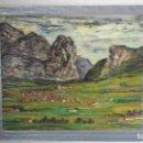 Arte: PAISAJE NORTEÑO DE ABRAIDO DEL REY. Lote 98306927