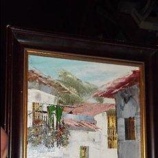 Arte: PINTURA AL OLEO FIRMADO. Lote 98445591