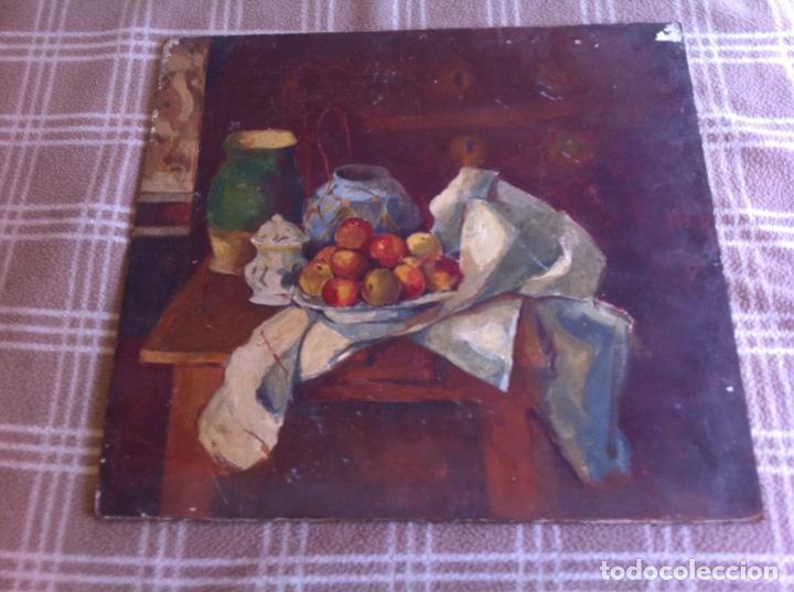 PRECIOSO BODEGÓN ANTIGUO SOBRE TABLA (Arte - Pintura - Pintura al Óleo Antigua sin fecha definida)