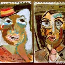 Arte - DUQUESA DE ALBA Y CURRO EN HOTEL VICTORIA DE MADRID-VENDO LA PAREJA. 32.5 x 23 cm cada uno - 98806143