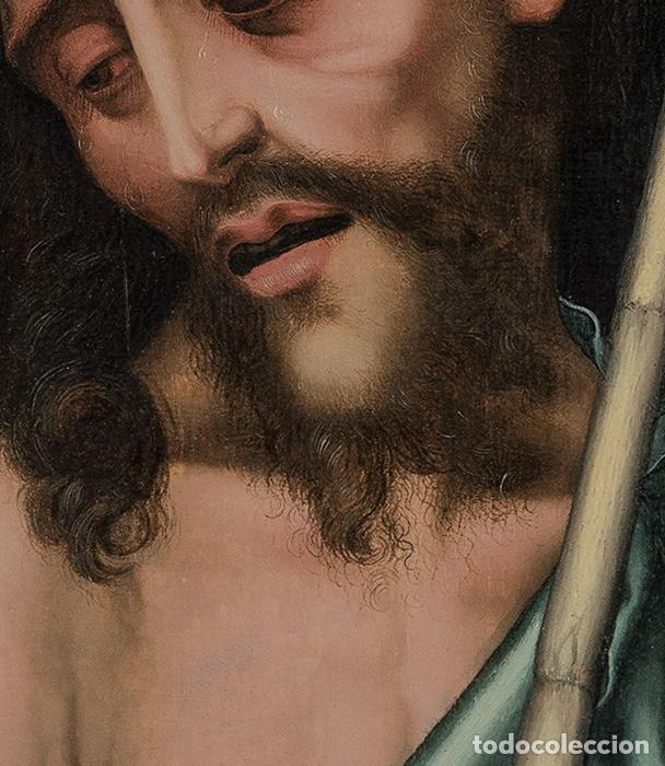 Arte: Luis DE MORALES , El Divino . Ecce Homo . Painting Oil panel Catalogado por Christie's y Sotheby's - Foto 2 - 98933747