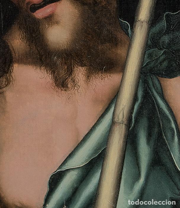 Arte: Luis DE MORALES , El Divino . Ecce Homo . Painting Oil panel Catalogado por Christie's y Sotheby's - Foto 3 - 98933747