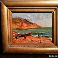 Arte: MARINA POR SEGUNDO MATILLA (1862-1937). Lote 99086331