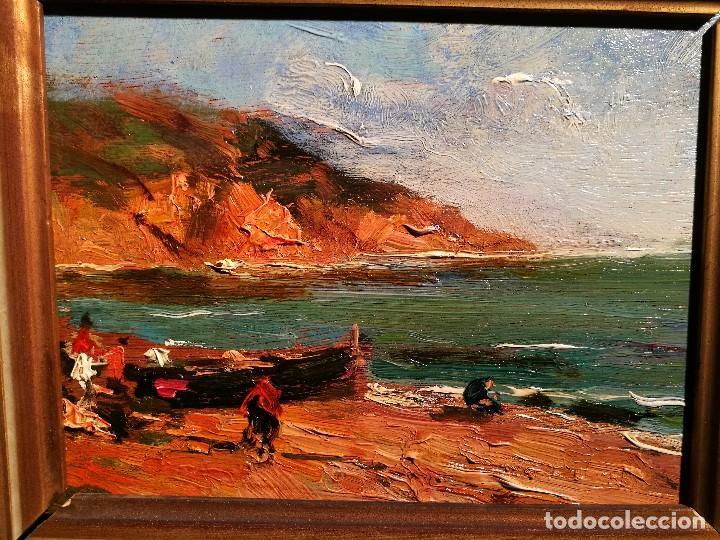 Arte: MARINA POR SEGUNDO MATILLA (1862-1937) - Foto 2 - 99086331