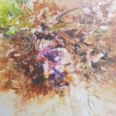 Arte: CARLOS MERCHAN, RETRATO FIGURATIVO, OLEO SOBRE TABLA, FIRMADO. 20X30CM. Lote 99237756