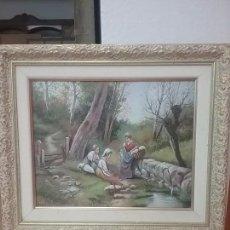 Arte: PINTURA AL OLEO ,FIRMADA J.VALLS. Lote 99292851