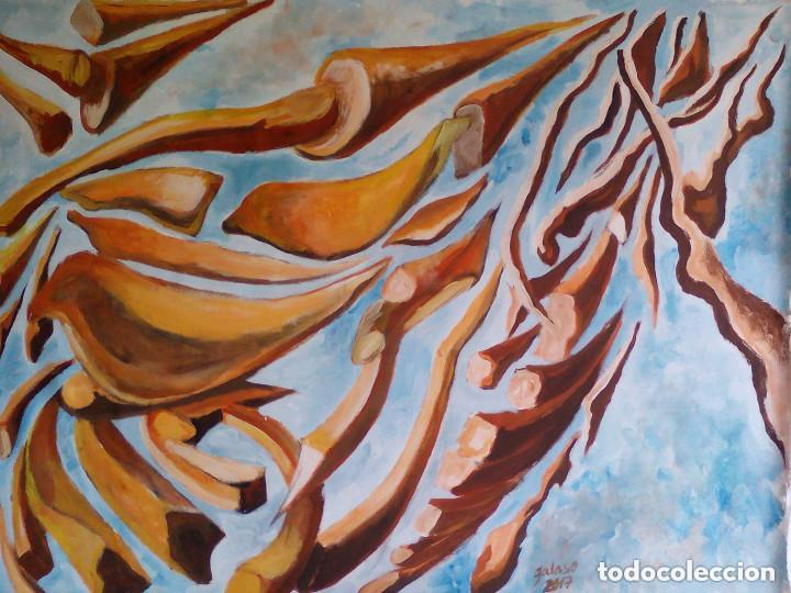 Arte: pintura,sobre lienzo,sin bastidor.firmada - Foto 2 - 99387431