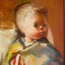 Arte: JOSE MONTAÑES (VALENCIA 1918-1998) PRECIOSA PINTURA ORIGINAL FIRMADA.. Lote 99442731