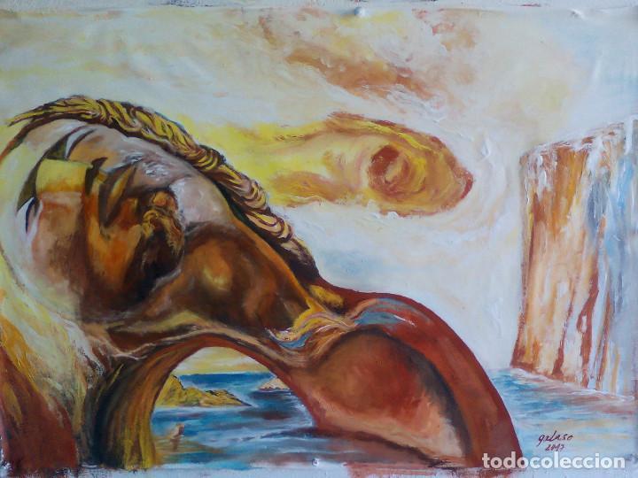REPRODUCCION DE DALI,FIRMADO (Arte - Pintura - Pintura al Óleo Contemporánea )