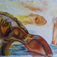 Arte: REPRODUCCION DE DALI,FIRMADO. Lote 99551127