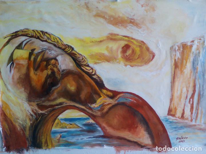 Arte: reproduccion de dali,firmado - Foto 2 - 99551127