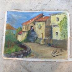 Arte: ANTIGUO OLEO FIRMADO MARIA PADILLA. ENVIO CERTIFICADO.INCLUIDO.. Lote 99668235