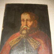 Arte: OLEO SOBRE LIENZO ANONIMO...SIGLO XVIII...CABALLERO.. Lote 99669067
